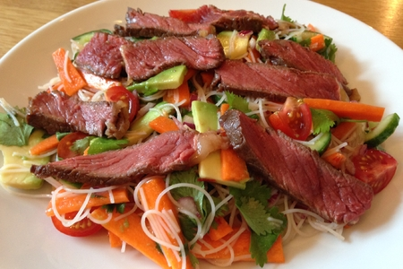 Salade de Nouilles au Boeuf