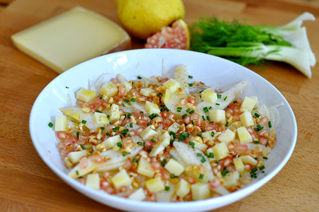 Salade Fenouil Poire