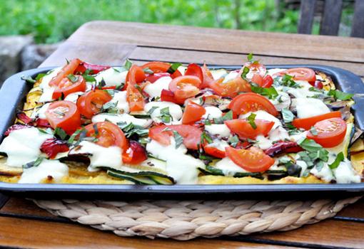 Légumes grillés et Polenta