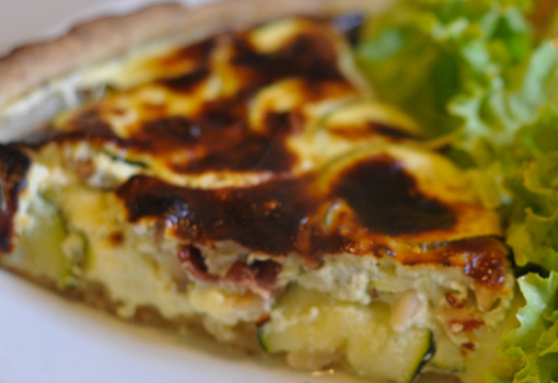 Tarte Courgette Jambon