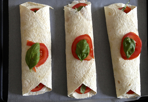 Wrap à l'italienne