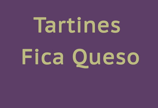 Tartines fica-queso