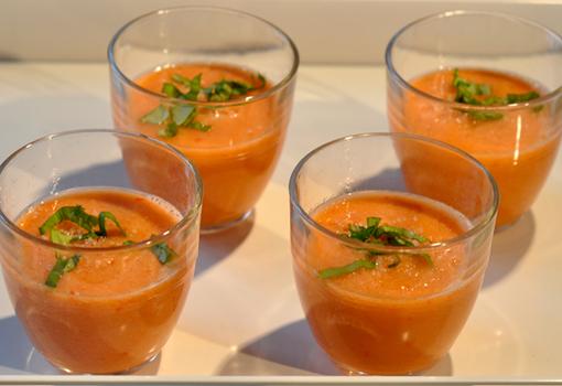 Gaspacho Tomate-Melon