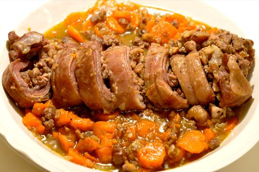Recette poitrine d 39 agneau la berrichonne menu by menu - Cuisiner poitrine d agneau ...